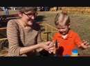 Israel and Samuel Dillard have a picnic with grandma at the pumpkin patch-Octobe.mp4