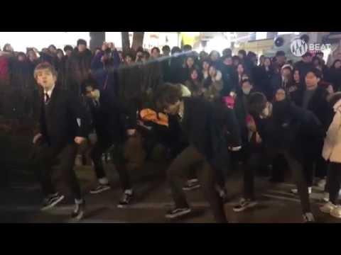 NCT127 - 소방차(Fire Truck) Dance cover Busking in Hongdae