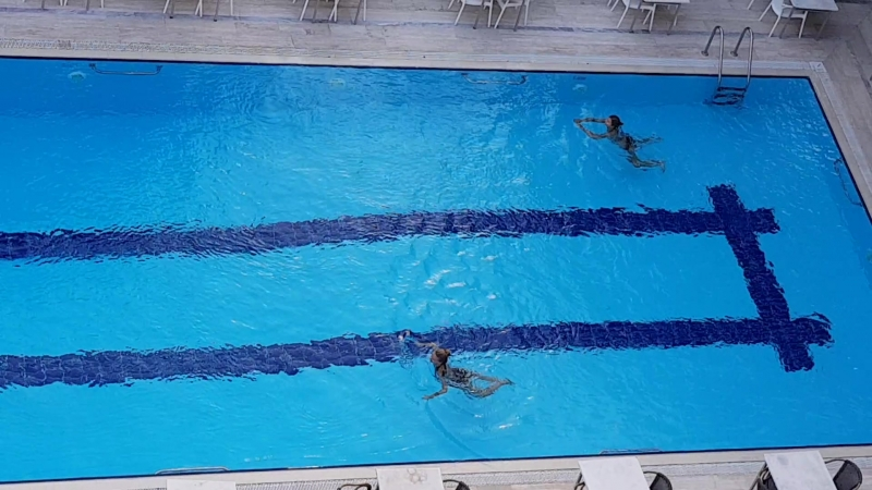 Excalibur Afrodite swimming pool