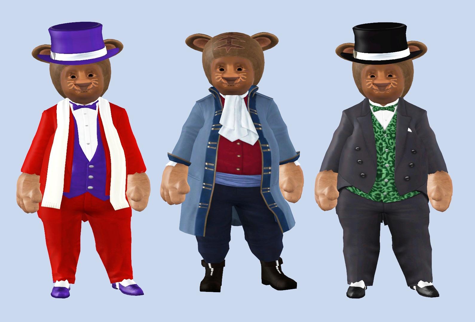 персонаж для симс 3 медведь