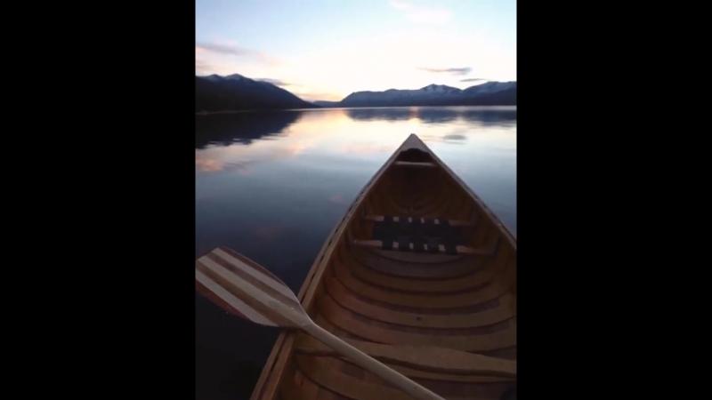 Озеро в Монтане