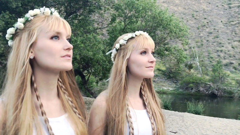 Beneath the Midnight Sun (SUMMER SOLSTICE Original Song) - Harp Twins, Camille and Kennerly