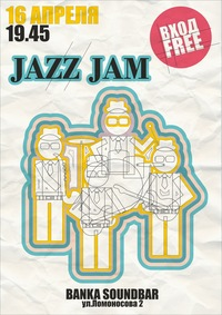 16/04 - JAZZ JAM @ Soundbar Banka
