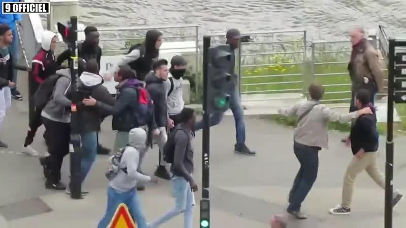 Gewalt auf der Straße Impressionen aus Macrons Frankreich