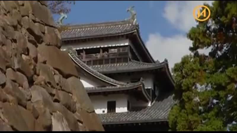 История средневековых замков Японии.