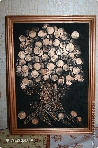 Некуда девать мелочь после поездок? Сделайте такое денежное дерево!