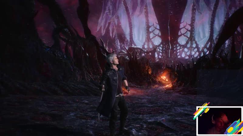 Надираем демонические жёпы в Devil May Cry 5 Часть 1