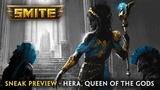 SMITE - Sneak Preview - Hera, Queen of the Gods