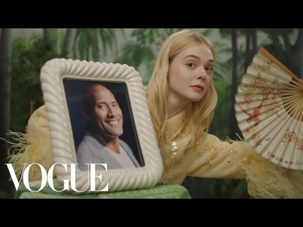 Elle Fannings Fan Fantasy | Vogue