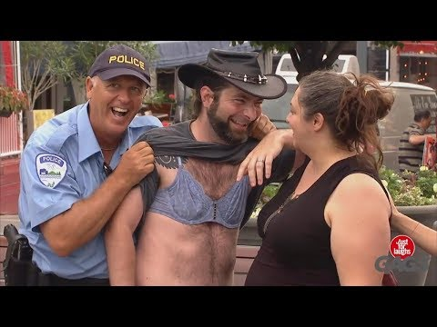 TOP 10 Best Just For Laughs Gags: Boyfriends in Bras Panks | Part 40