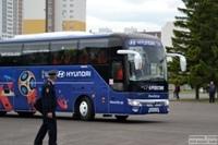 12 июня 2018 - Сборная Швейцарии по футболу приехала в Тольятти