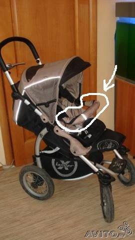 заказать коляску трансформер для кукол
