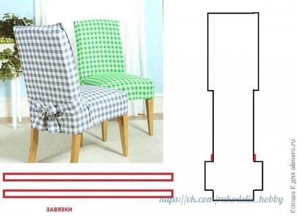 Ideas para el hogar molde de costura fundas de sillas - Materiales para tapizar una silla ...