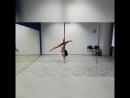 Облет на статике. Pole Dance Wave Омск