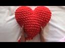 Подушка-Сердце из Alize Puffy