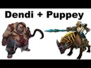 Dendi Pudge Puppey Chen fountain hooking - NaVi vs TongFu - Dota 2 ti3