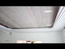 Натягивание полотна нижнего и верхнего уровня 2 ч.