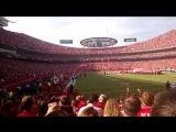 Kansas City Chiefs vs Houston Texans 10-20-2013 National Anthem by Danielle Bradbery
