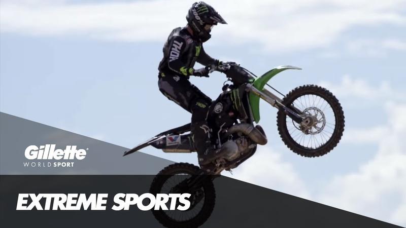 Freestlye Motocross with Jacko Strong | Gillette World Sport » Freewka.com - Смотреть онлайн в хорощем качестве
