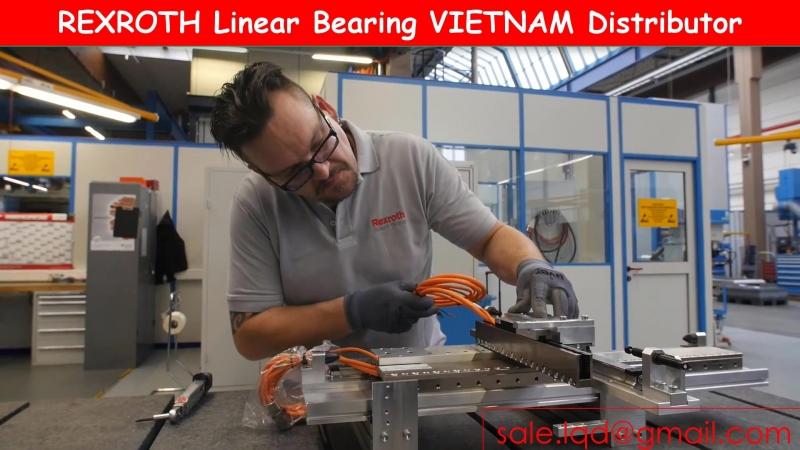 Bac dan truot rexroth, vong bi truot rexroth linear bearing, bosch rexroth vietnam