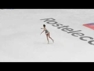 Alina Zagitova Practice Short 2018 11 16