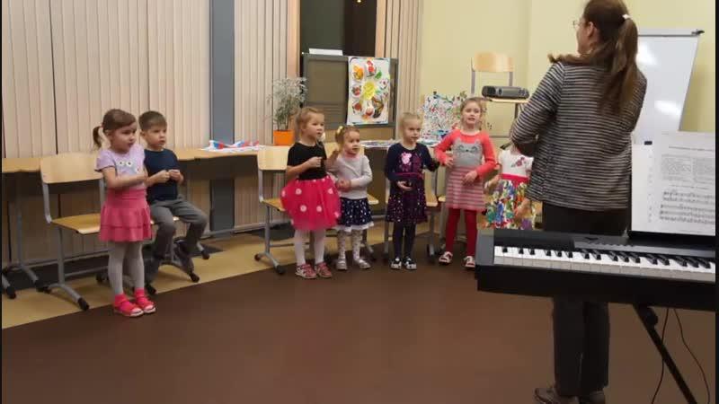 Открытый урок вокальной студии Улыбка 15.11.2018