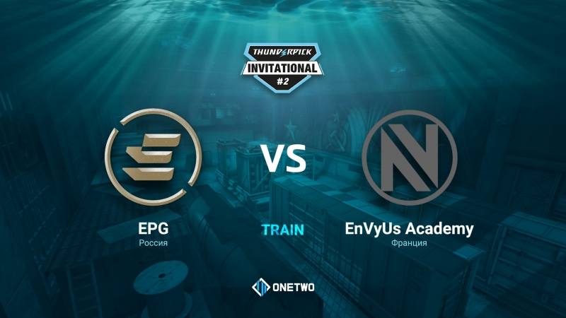 Thunderpick Invitational 2 EPG vs EnVyUs Academy BO1 by Afor1zm