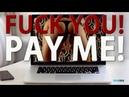 F*ck you. Pay me. Отдай свои деньги и власть женщине.
