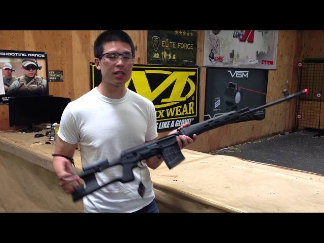 Airsoft GI Uncut - King Arms Full Metal Kalashnikov SVD AEG Airsoft Gun