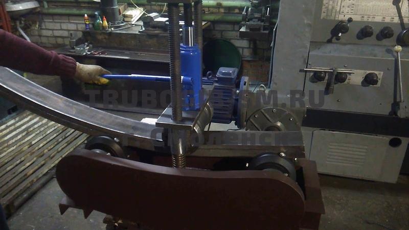 Универсальный, усиленный профилегиб «TR-3000», для гибки швеллера и профильной трубы!