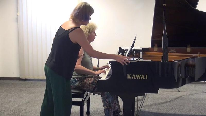 06.07.2018 Mira Marchenko's master-classes. Gloria Kim. Concert Hall, Trogir, Croatia