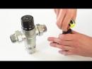 Калибровка термостатического смесительного клапана PF RVM 395.15