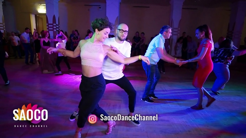 Marco Ivanyk and Svetlana Ray Salsa Dancing in Lendvorets at The Third Front 2018, Friday 03.08.2018