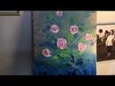Опять цветы хоть и абстрактные