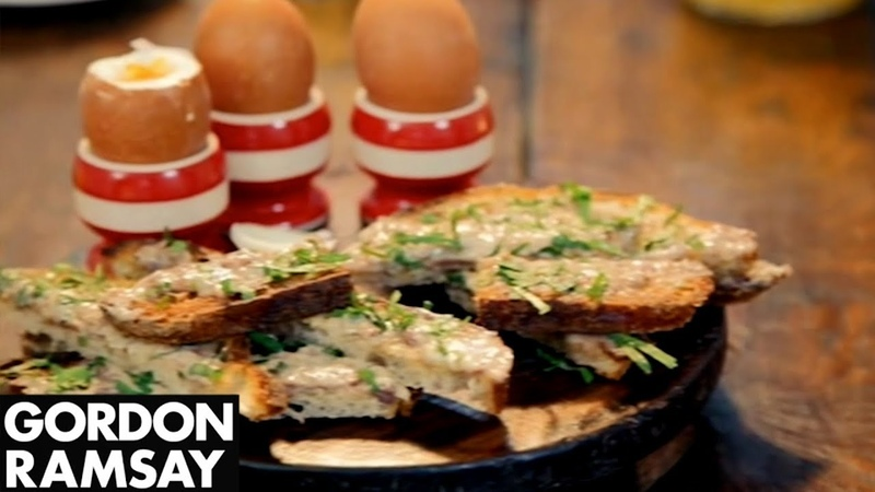 Boiled Eggs With Anchovy Soldiers