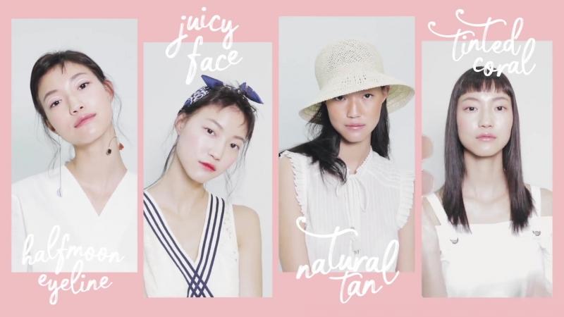 4 летних образа от Cosmo Korea