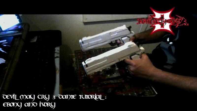 Devil May Cry 3 Cosplay Tutorial : Ebony Ivory Gun Build