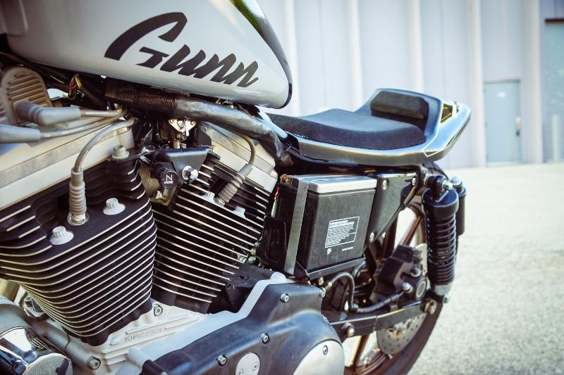 Gunn Design: трекер Harley-Davidson Sportster Super Hooligan
