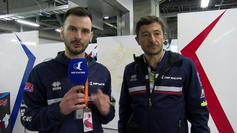 SMP Racing Live 6H Fuji 6 - Тренировка смены пилота