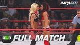 Angelina Love vs Tara FULL MATCH (TNA Slammiversary 2009) IMPACT Wrestling Full Matches