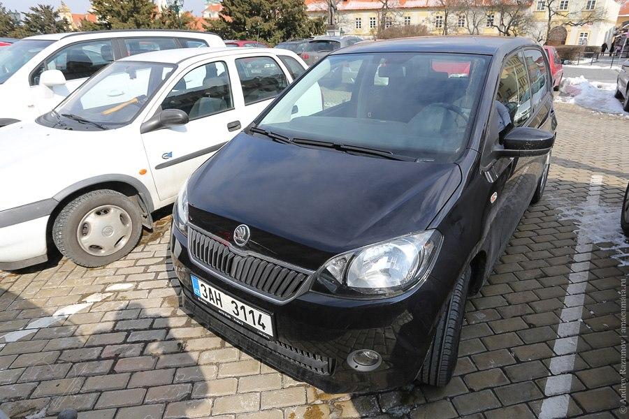 Чехия автомобиль Skoda CityGo