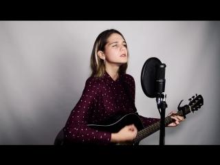 Аня Ковтун спела под гитару песню НЕРВЫ - Самый дорогой человек