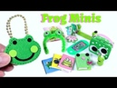 10 DIY Frog Miniatures Purse Lunchpail Diary Tablet Notebooks More