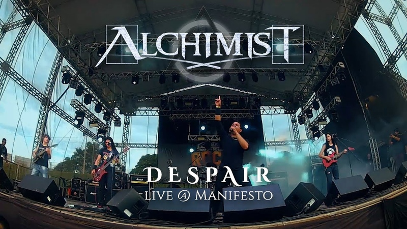 Alchimist - Despair (Live @ Manifesto São Luís Rock)