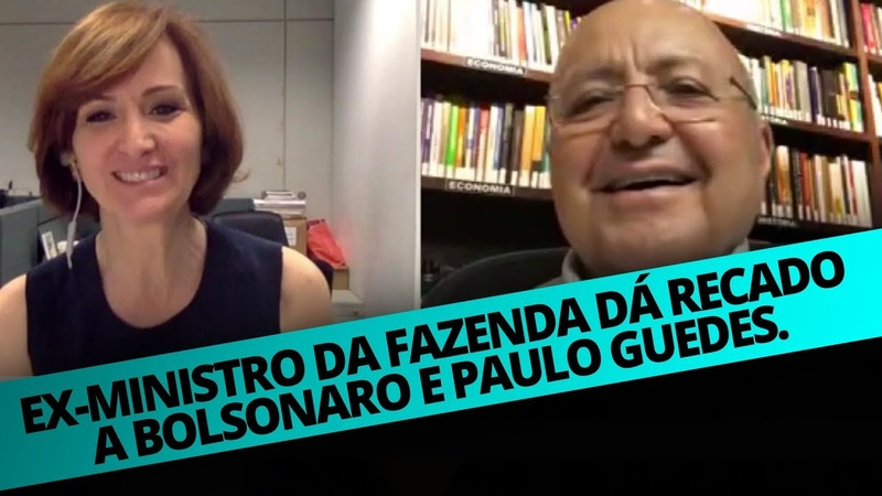 EX-MINISTRO DA FAZENDA DÁ RECADO A BOLSONARO E PAULO GUEDES