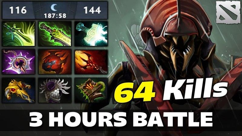 NYX 64 Frags 3 Hour Battle Game Dota 2