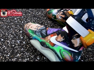 Full Custom ¦ DragonBall Super Painted Nike Air Mags by Sierato (FML)
