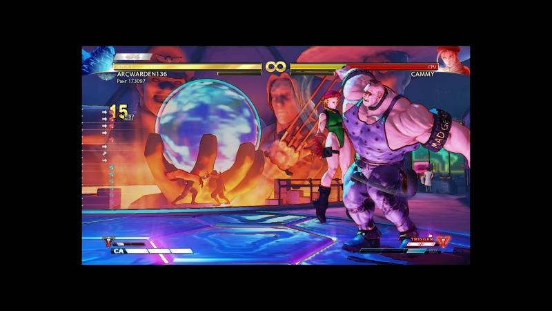 StreetFighterV Abigail 90% damage combo.