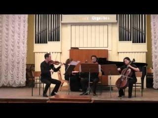 Volodymyr Runchak - Kyrie eleison for piano quartet