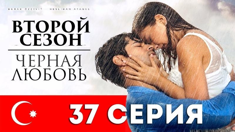 Черная любовь. 37 серия. Турецкий сериал на русском языке